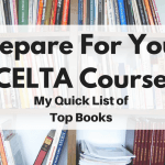 Books to prepare for your CELTA course TWITTER