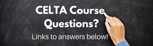 celta course questions answered