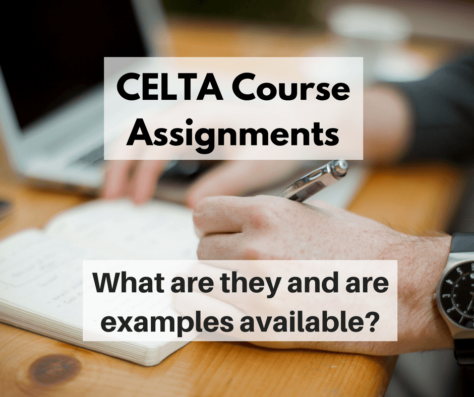 CELTA course assignments what and why TWITTER