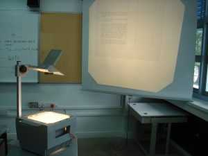 celta course questions - what is an overhead projector