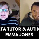 screenshot from interview with Emma Jones
